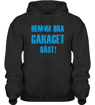 Hood HeavyBlend Svart/Blått tryck i kategori Motor: Hemma bra Garaget bäst