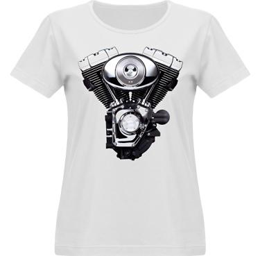 T-shirt Vapor Dam  i kategori Motor: HD Motor