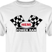 T-shirt, Hoodie i kategori Motor: Hemi Power Ram