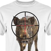 T-shirt, Hoodie i kategori Blandat: Jakt Vildsvin