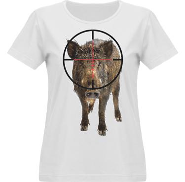 T-shirt Vapor Dam  i kategori Blandat: Jakt Vildsvin