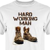T-shirt, Hoodie i kategori Arbete: Hard Working Man