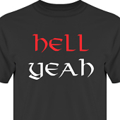 T-shirt, Hoodie i kategori Attityd: Hell Yeah