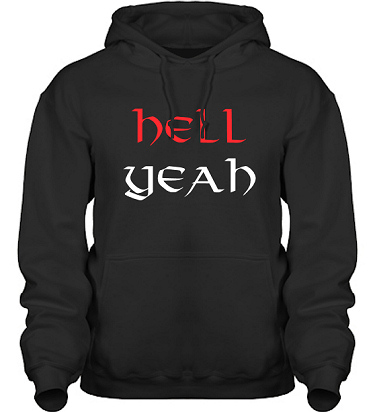 Hood HeavyBlend Svart i kategori Attityd: Hell Yeah