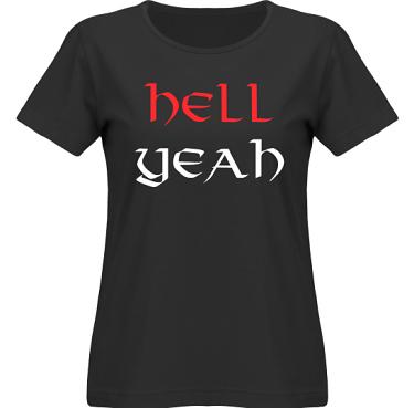 T-shirt SouthWest Dam Svart i kategori Attityd: Hell Yeah