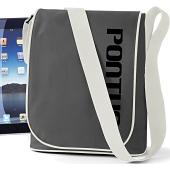 iPad-väska i kategori Eget namn/text: iPad-väska Grafit