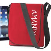 iPad-väska i kategori Eget namn/text: iPad-väska Röd