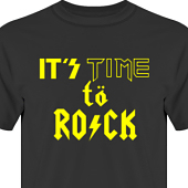 T-shirt, Hoodie i kategori Musik-Hårdrock: Time to Rock