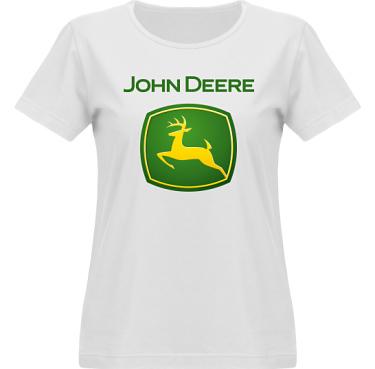 T-shirt Vapor Dam  i kategori Motor: John Deere