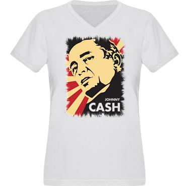 T-shirt XP522 Dam i kategori Musik: Johnny Cash