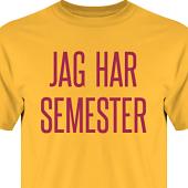 T-shirt, Hoodie i kategori Arbete: Jag har semester
