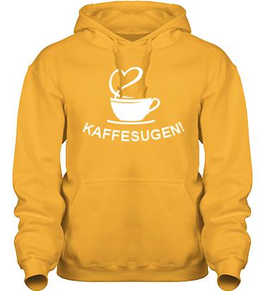 Hood HeavyBlend Gul/Vitt tryck i kategori Blandat: Kaffesugen