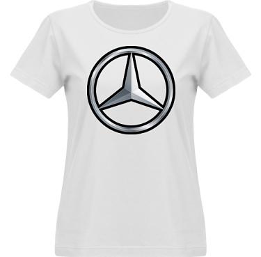 T-shirt Vapor Dam  i kategori Motor: Mercedes