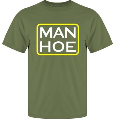 T-shirt UltraCotton Militärgrön i kategori Sexxx: Man Hoe