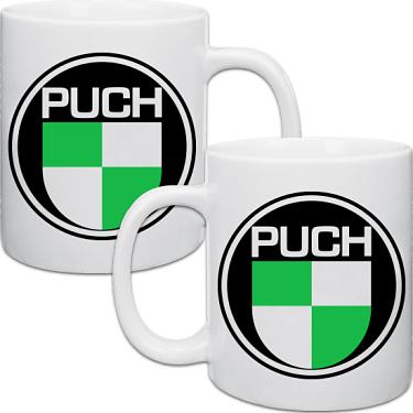Vit keramikmugg Puch 2-pack i kategori Muggar: Mugg Puch 2-pack