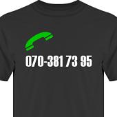 T-shirt, Hoodie i kategori Blandat: Ring mig