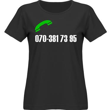 T-shirt SouthWest Dam Svart/Vitt tryck i kategori Blandat: Ring mig