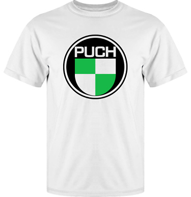 T-shirt Vapor i kategori Motor: Puch