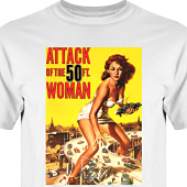 T-shirt, Hoodie i kategori Film/TV: 50ft woman