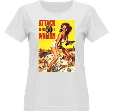 T-shirt Vapor Dam  i kategori Film/TV: 50ft woman