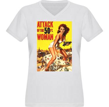T-shirt XP522 Dam i kategori Film/TV: 50ft woman