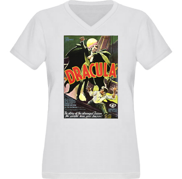 T-shirt XP522 Dam i kategori Film/TV: Dracula