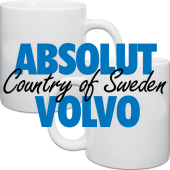 Mugg, Muggar i kategori Muggar: Mugg Absolut Volvo 2-pack
