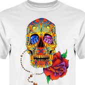 T-shirt, Hoodie i kategori Tattoo: Mexican Style