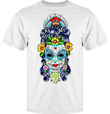 T-shirt Vapor i kategori Tattoo: Mexican Style
