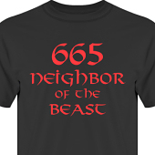 T-shirt, Hoodie i kategori Musik-Hårdrock: Neighbor