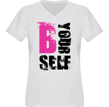 T-shirt XP522 Dam i kategori Kloka ord: B Yourself