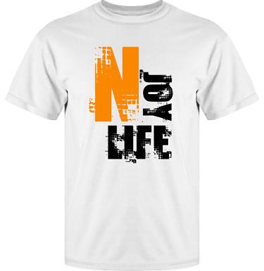 T-shirt Vapor i kategori Kloka ord: Njoy Life