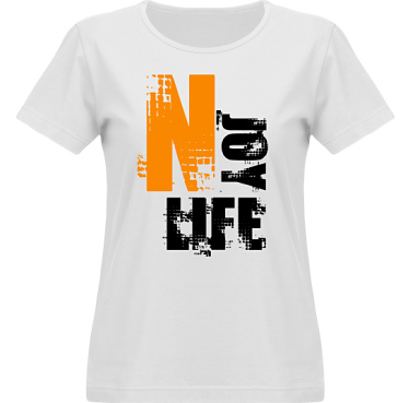 T-shirt Vapor Dam  i kategori Kloka ord: Njoy Life