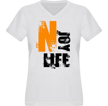 T-shirt XP522 Dam i kategori Kloka ord: Njoy Life