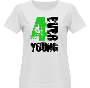T-shirt Vapor Dam  i kategori Kloka ord: 4ever Young