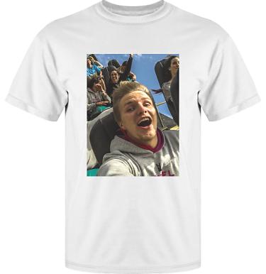T-shirt Vapor med eget fototryck i kategori Eget Foto/Bild: T-shirt Eget Foto