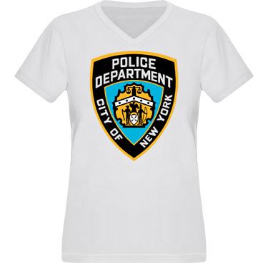 T-shirt XP522 Dam i kategori Blandat: NYPD