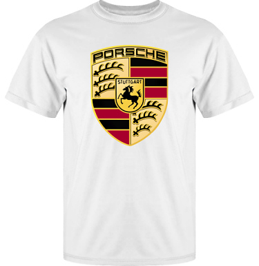 T-shirt Vapor i kategori Motor: Porsche
