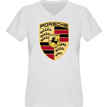 T-shirt XP522 Dam  i kategori Motor: Porsche