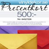 Presentkort - Perfekt att ge bort!