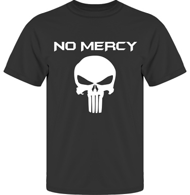 T-shirt UltraCotton Svart/Vitt tryck i kategori Film/TV: The Punisher