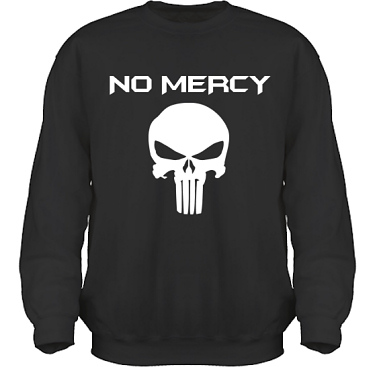 Sweatshirt HeavyBlend Svart/Vitt tryck i kategori Film/TV: The Punisher