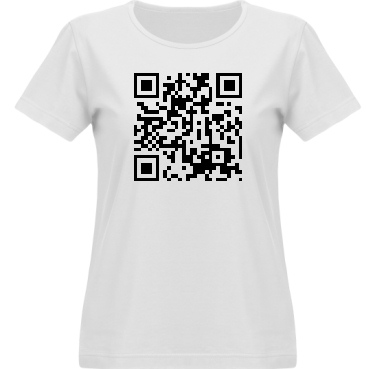 T-shirt Vapor Dam  i kategori Blandat: QR-Kod