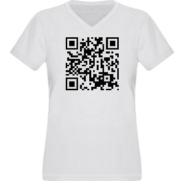 T-shirt XP522 Dam i kategori Blandat: QR-Kod
