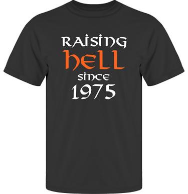 T-shirt UltraCotton Svart i kategori Attityd: Raising Hell