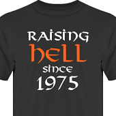 T-shirt, Hoodie i kategori Attityd: Raising Hell