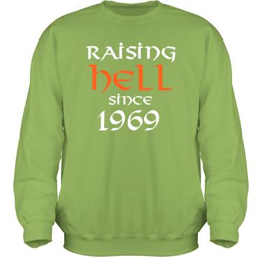 Sweatshirt HeavyBlend Kiwi i kategori Attityd: Raising Hell