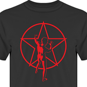 T-shirt, Hoodie i kategori Musik-Hårdrock: Rush Starman