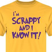 T-shirt, Hoodie i kategori Scrapbooking: Im scrappy