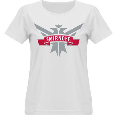 T-shirt Vapor Dam  i kategori Alkohol: Smirnoff